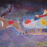 Рисунок на конкурс Поздравление Деду Морозу